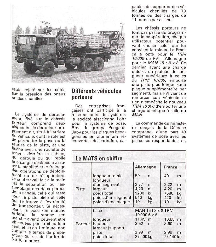 Véhicules et matériels : le TRM 10 000