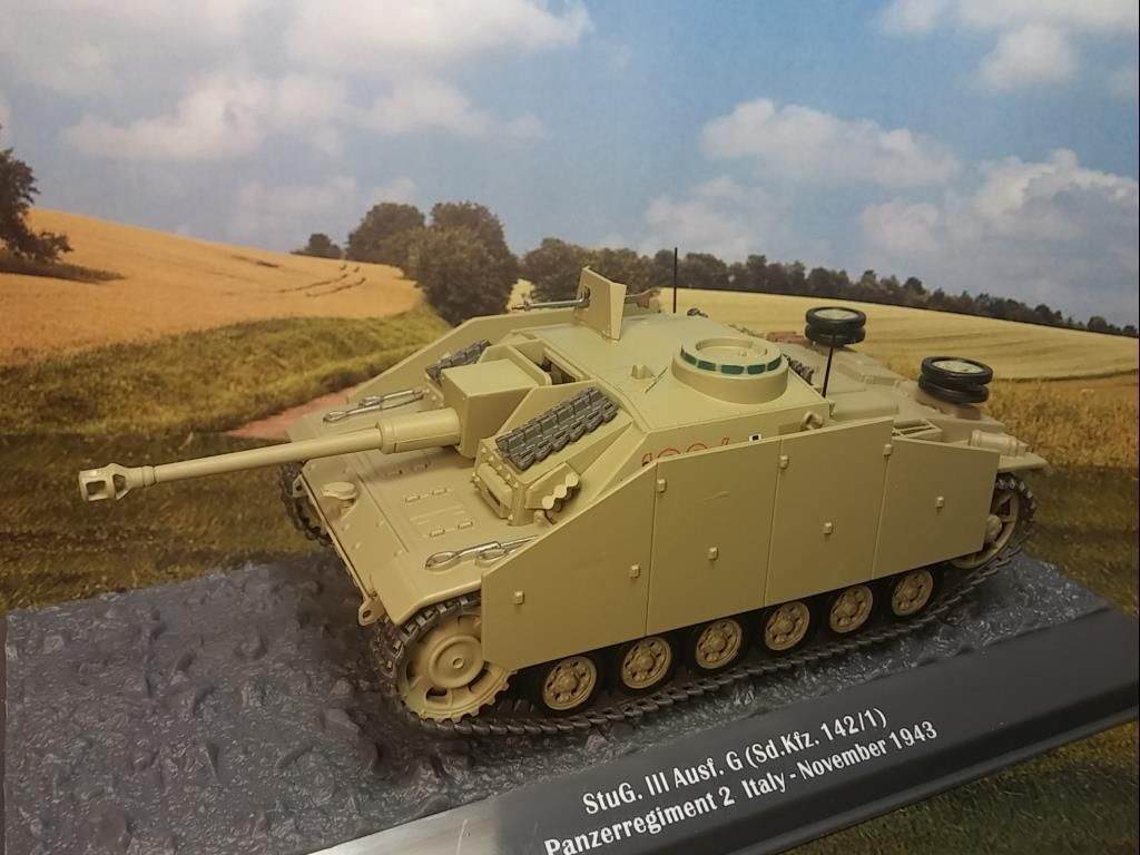 Stug III 40 Ausf.G (SD.KFZ.142/1) au 1/43 (Altaya/Ixo)