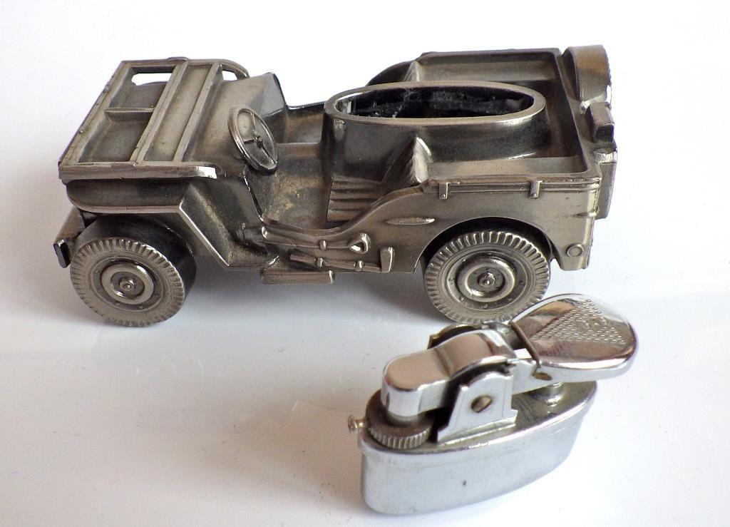 Curiosité : Jeep briquet... pour s'enflammer ! (par Jérôme Hadacek)