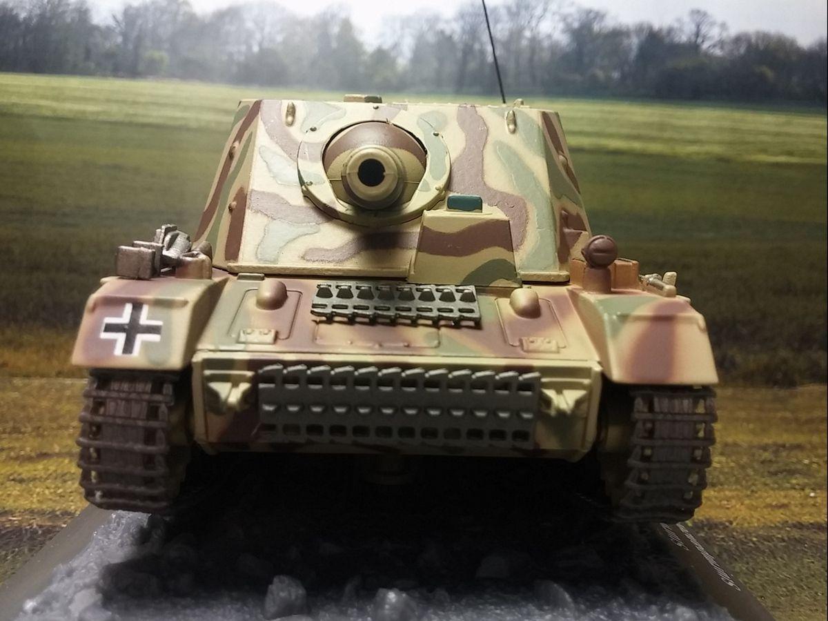 Sturmpanzer IV SD.KFZ.166 Brummbär au 1/43 (Altaya/Ixo)
