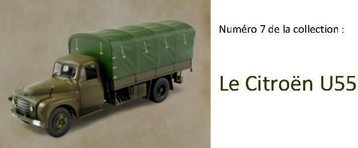 Citroën U55 bâché au 1/43 (Direkt Collections/Ixo)