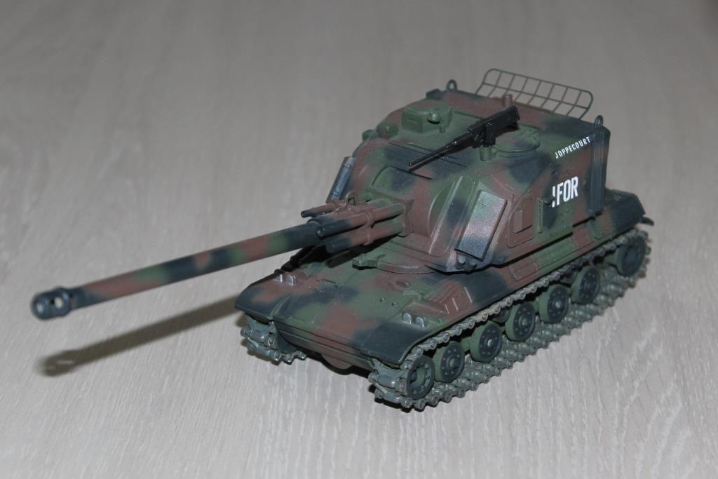 AMX 30 AU-F1 au 1/48ème sur base Solido (Gaso.Line/Militech)