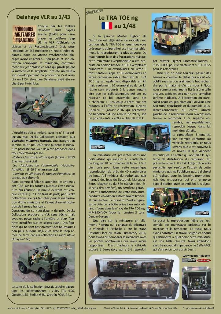Milinfo-Focus n° 45 : le TRA TOE ng au 1/48 (Master Fighter)