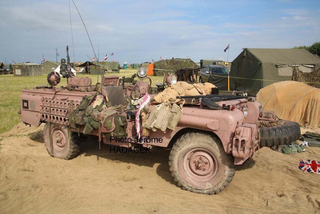 Superbe Land Rover Pink Panther des SAS britanniques
