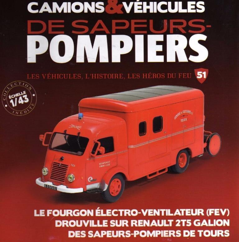Renault Galion 2T5 Drouville FEV au 1/43 (Hachette/Ixo)