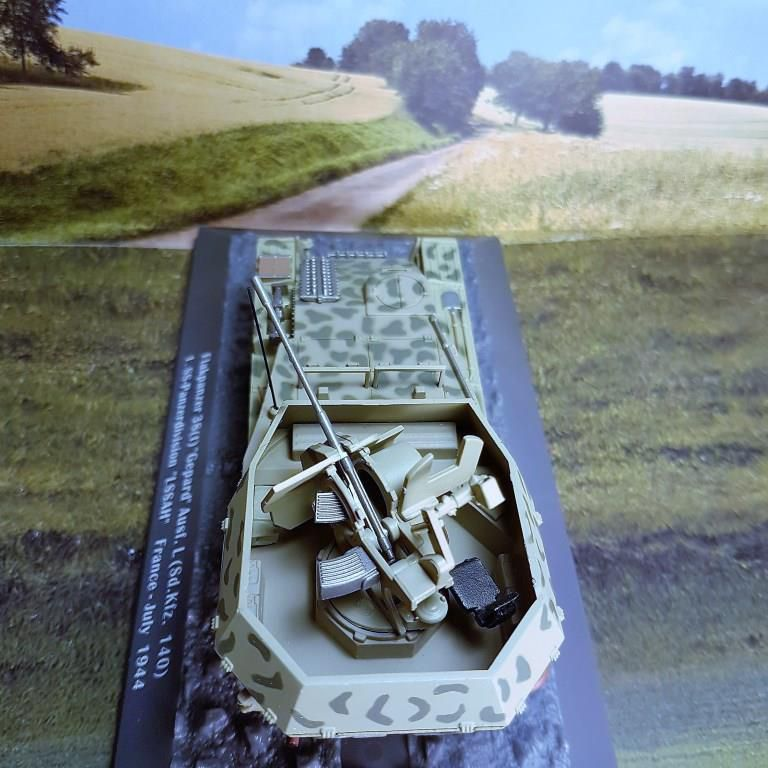 Flakpanzer 38 (T) au 1:43 (Altaya)