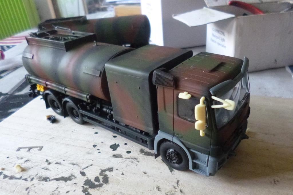 Train routier avitailleur Desautel au 1/48 (Master Fighter)