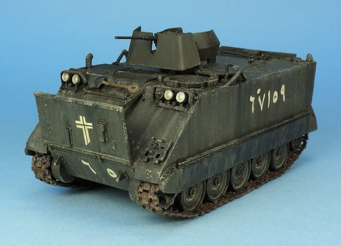 Transport de troupe M113 au 1:48 (Gaso.Line)