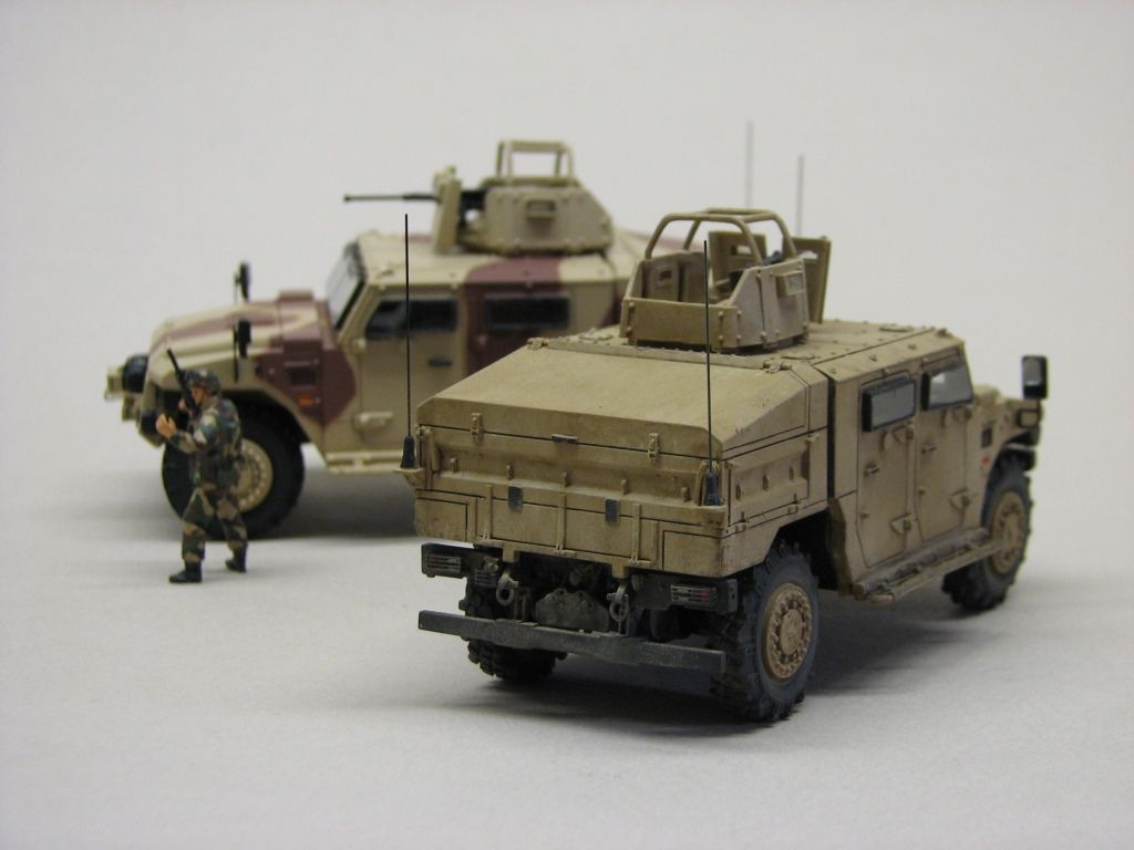 Sherpa Light APC, FS, Scout et carrier au 1/48ème (Master Fighter)