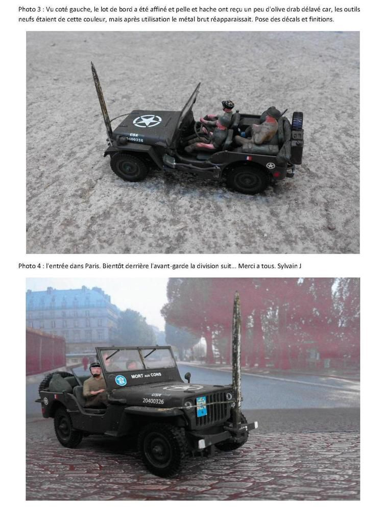 Modif : Jeep Willys &quot&#x3B;Mort aux cons&quot&#x3B; au 1:43 (par Sylvain)