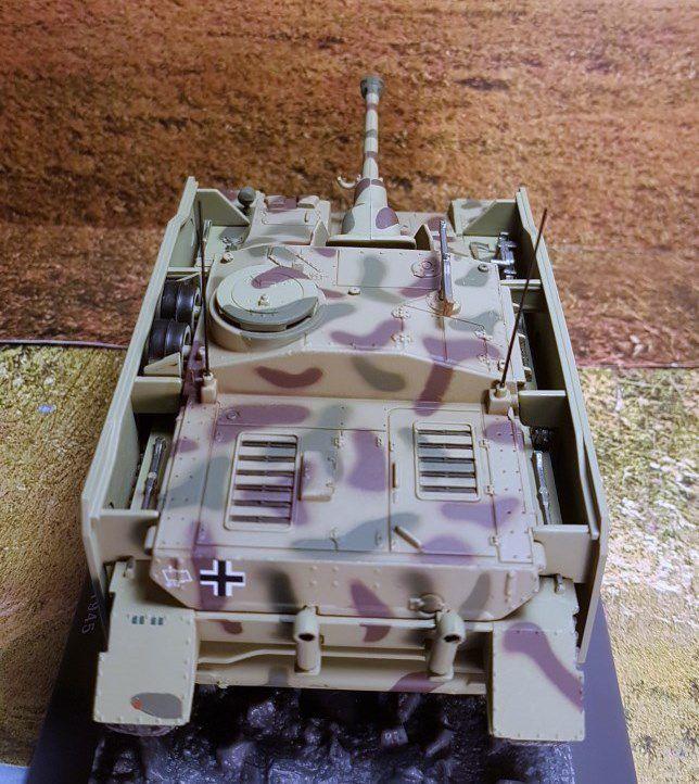 Sturmgeschûtz IV (SD.KFZ.167 ) au 1/43 (Altaya/Ixo)