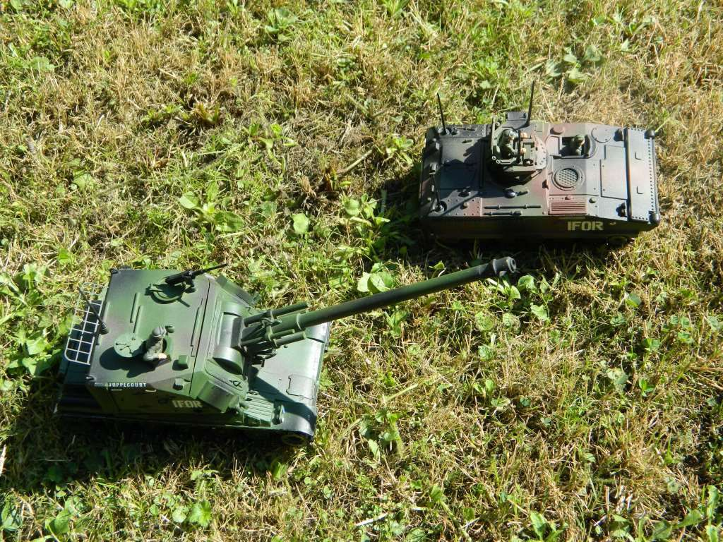 L'AMX 10 VOA sur base Solido (Gaso.Line)