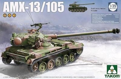 AMX-13 au 1/35 (Takom et Tamiya)