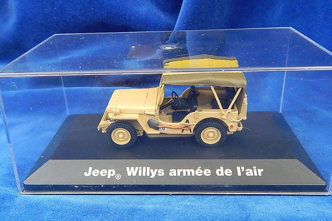 Jeep Hotchkiss Armée de l'air &quot&#x3B;Old Lady&quot&#x3B; au 1/43ème (Altaya)
