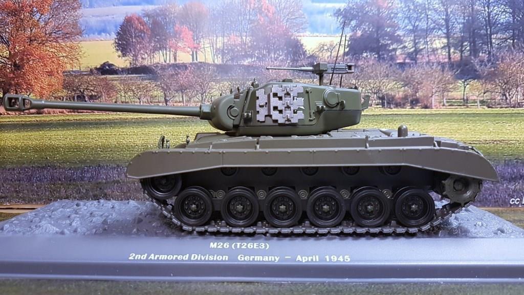 M26 Pershing au 1/72 et 1/43 (Altaya/Ixo)