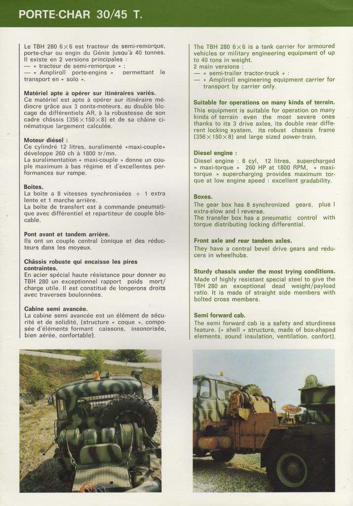 Véhicules et matériels : le Renault TRM 12000