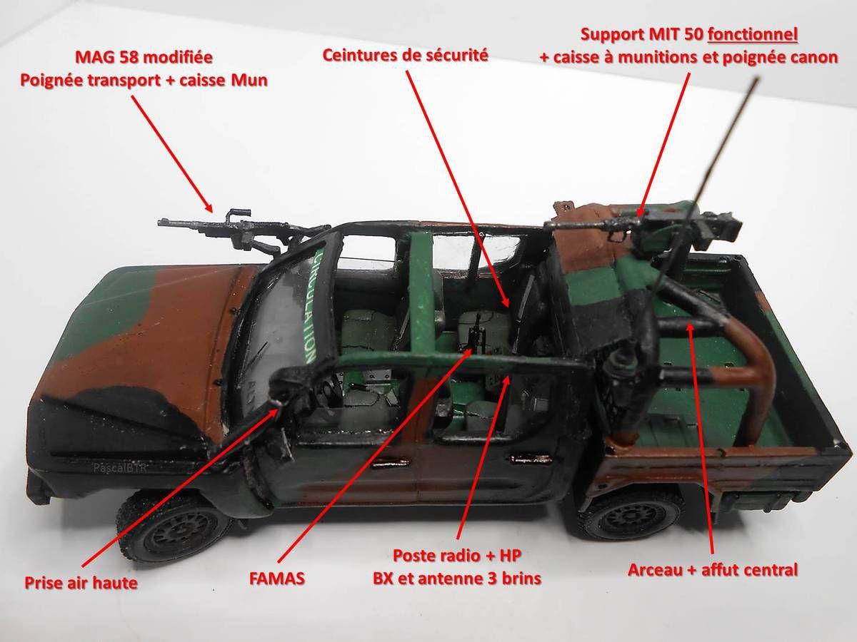 Véhicules et matériels : le Véhicule Léger Terrestre Tactique Polyvalent - Non Protégé (VLTP NP)