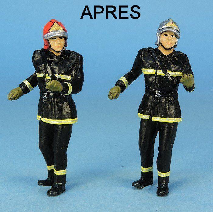 Figurine Sapeur-pompier (par Elodie)