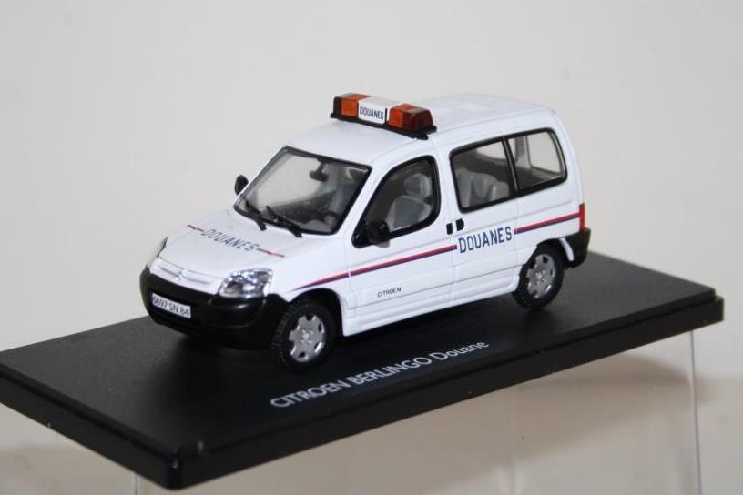 Citroën Berlingo Douanes au 1:43 (Eligor)