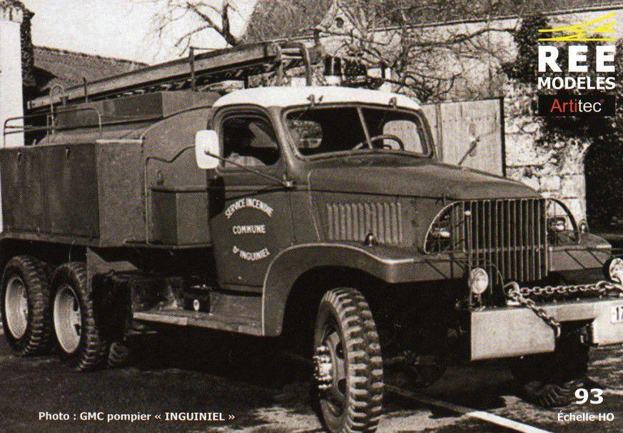 GMC CCKW 353 CCFL au 1/87 (REE)