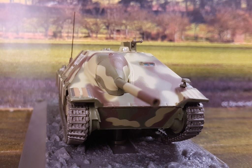 Jagdpanzer 38 Hetzer au 1/43 (Altaya/Ixo)