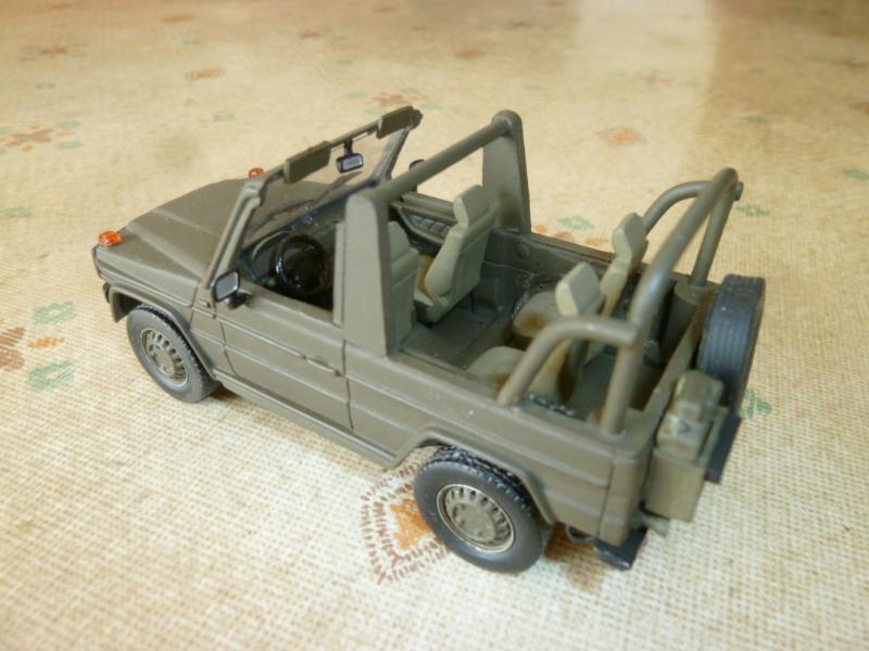 Mercedes G280 Wolf au 1/43 (par Hervbé C.)
