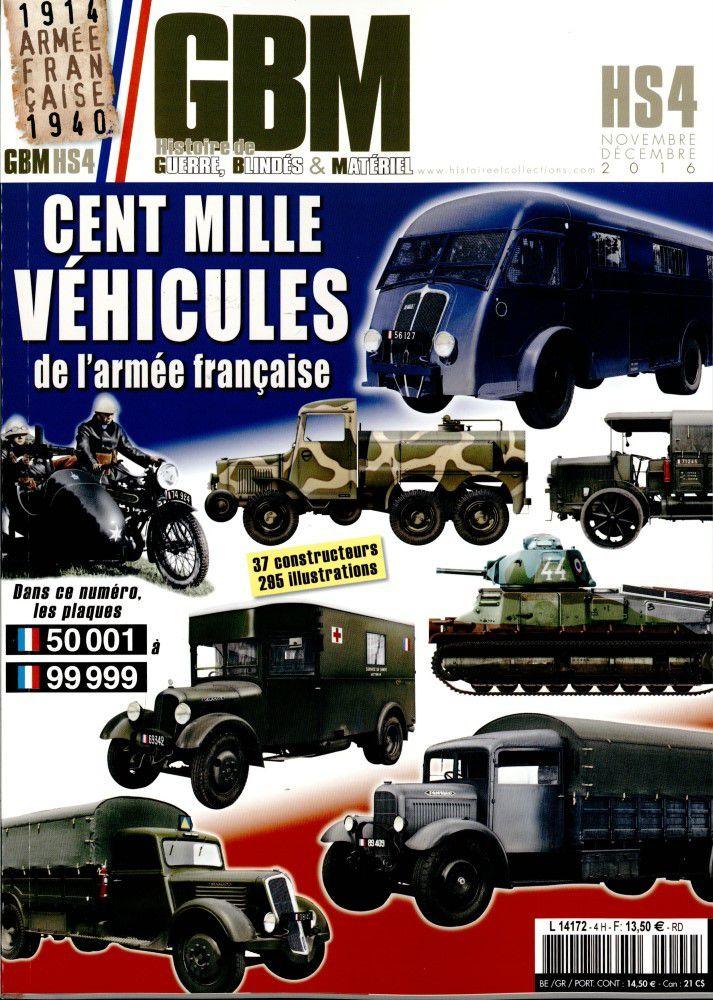 GBM Hors-série n° 3 : 100 000 véhicules militaires français