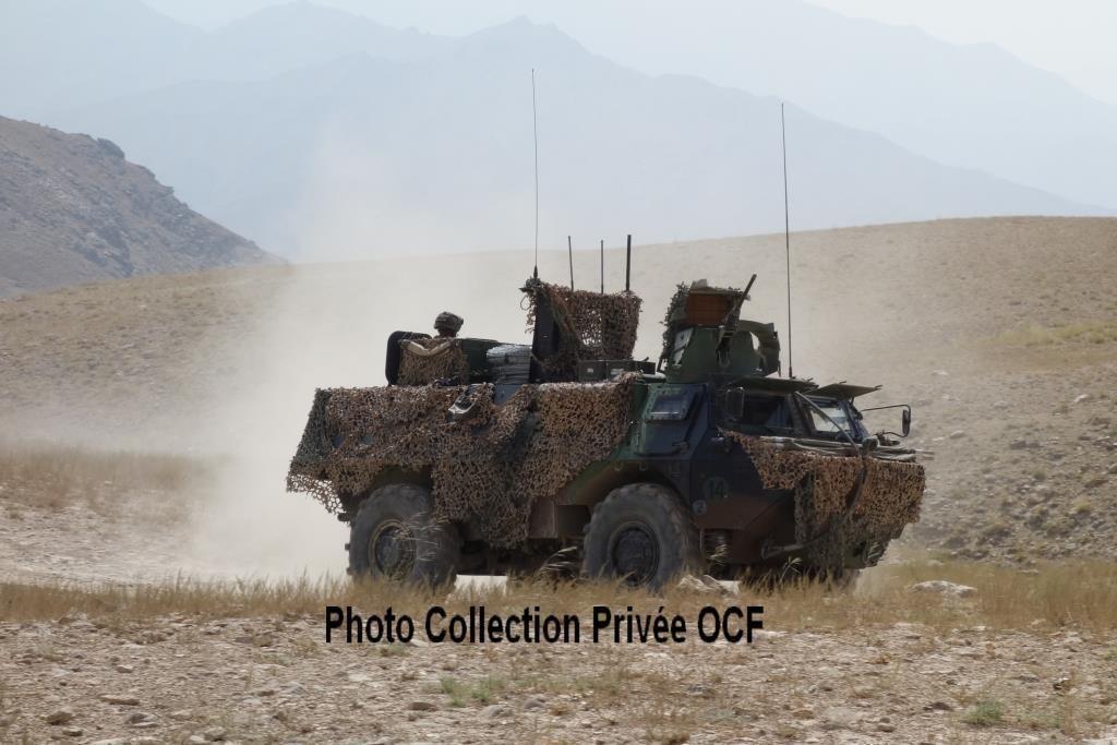 VAB en OPEX en 2012 en province de Kapisa – Afghanistan