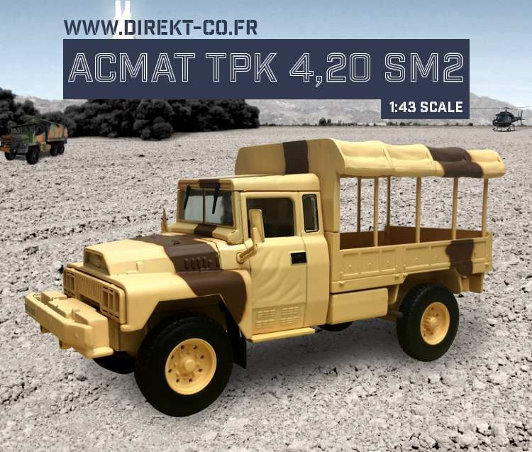 ACMAT VLRA TPK 4.20 au 1/43 (Direkt Collections/Ixo)