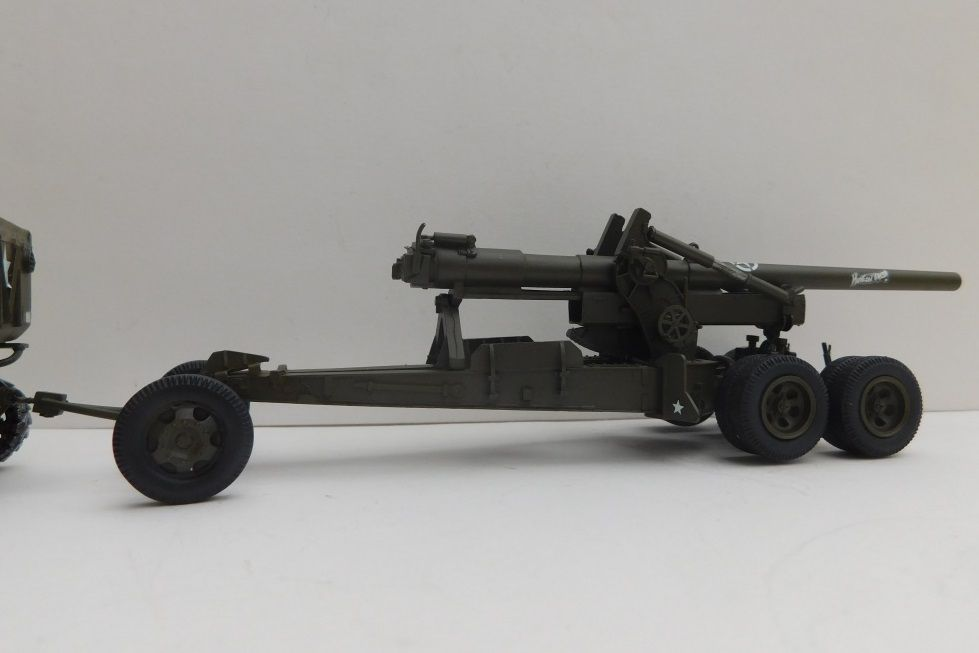 Canon US M1A1 155 mm Long Tom au 1:48 (Gaso.Line)