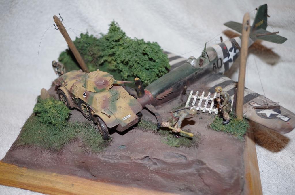Les miniatures militaires et dioramas au 1/48 de Yann
