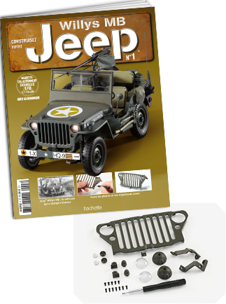 jeep willys mb au 1 8 hachette ixo. Black Bedroom Furniture Sets. Home Design Ideas