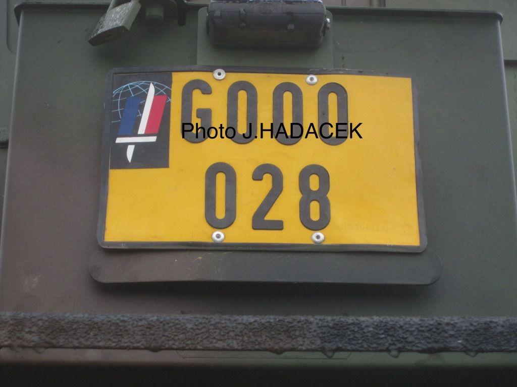 Véhicules&amp&#x3B;matériels : l'énigme des immatriculations du Génie militaire (par Jérôme Hadacek)