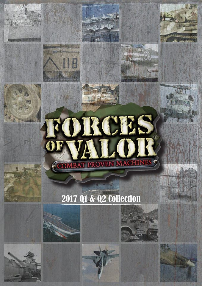 Catalogue Forces of valor 2017 (partie 1)