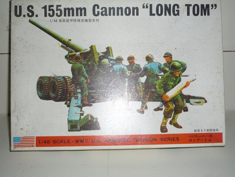 ... et un canon Long Tom au 1:48 !