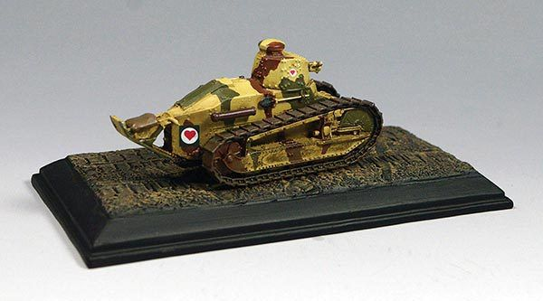 Renault FT 17 et Schneider CA1 au 1:72 (Wings on The Graet War)