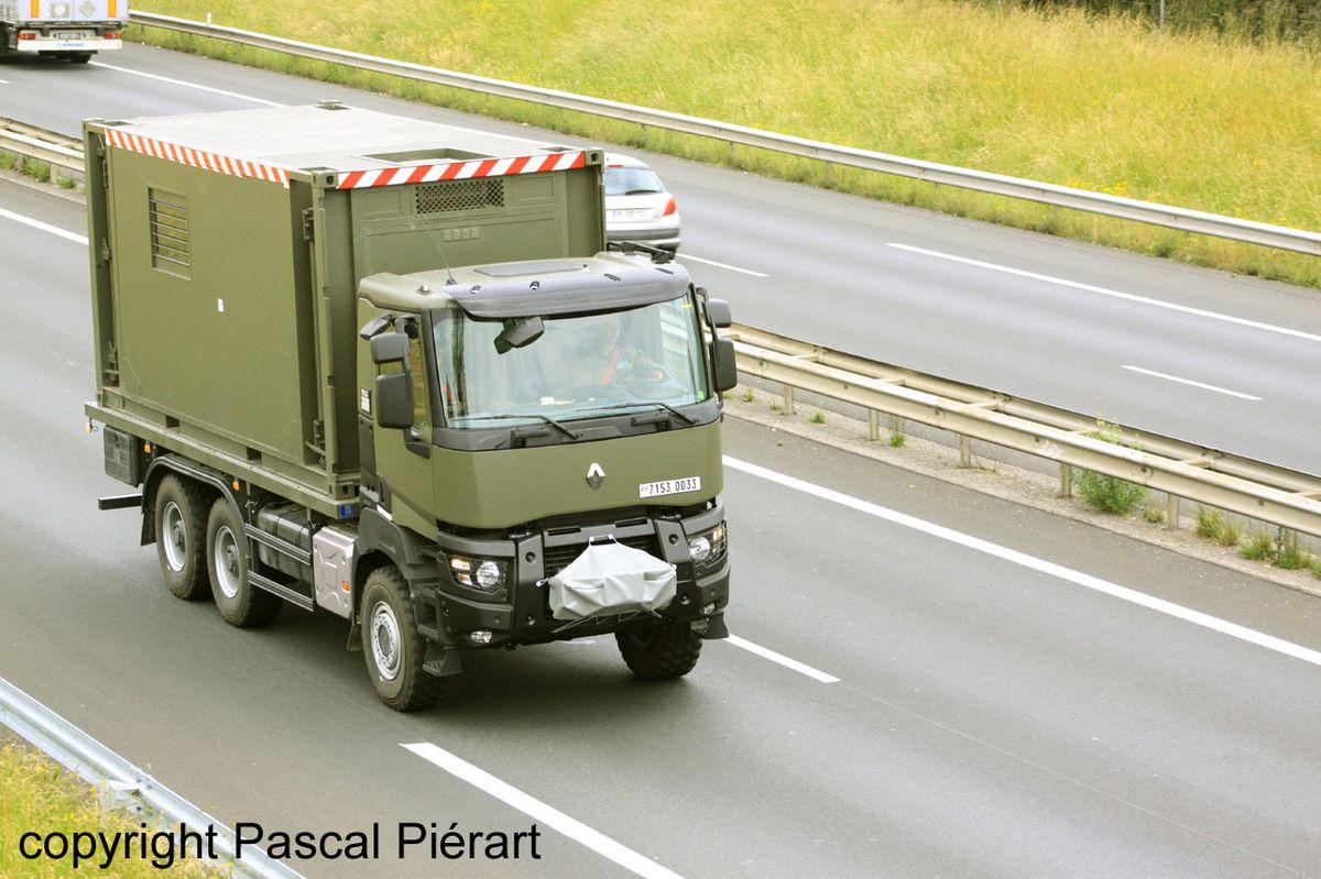 Véhicules&amp&#x3B;matériels : la gamme Renault K militarisé