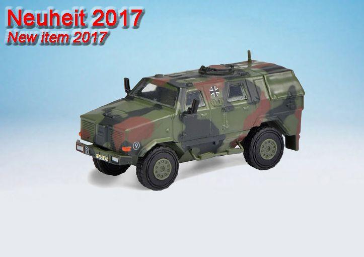 """Schuco Dingo I  """"Bundeswehr""""  / Dingo I  """"Bundeswehr / ISAF"""""""