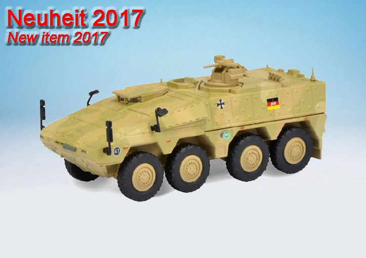 "Boxer  ""Bundeswehr"" / Boxer T ""Bundeswehr / ISAF"""