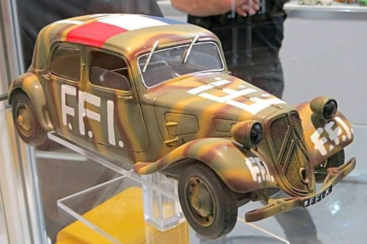 Citroën Traction Avant FFI au 1/18 (Solido)