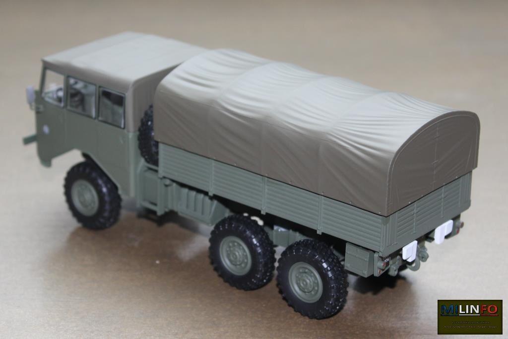 Berliet GBU 15 au 1/43 (Direkt-Collections/Ixo)