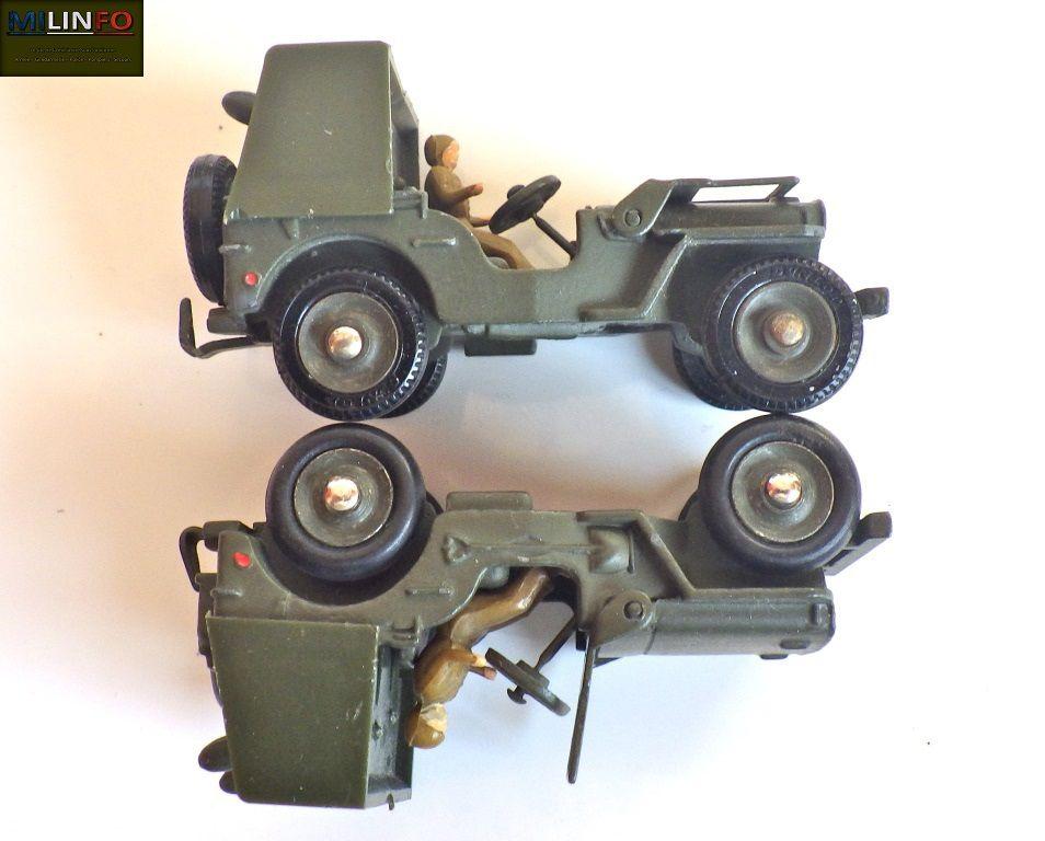 Les jeep SS11 et 106 SR : Différentes montes de pneumatiques