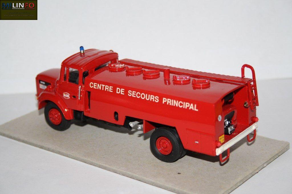 Collector : Berliet GLR 160 citerne CCI CAMIVA au 1:43 (Parade)