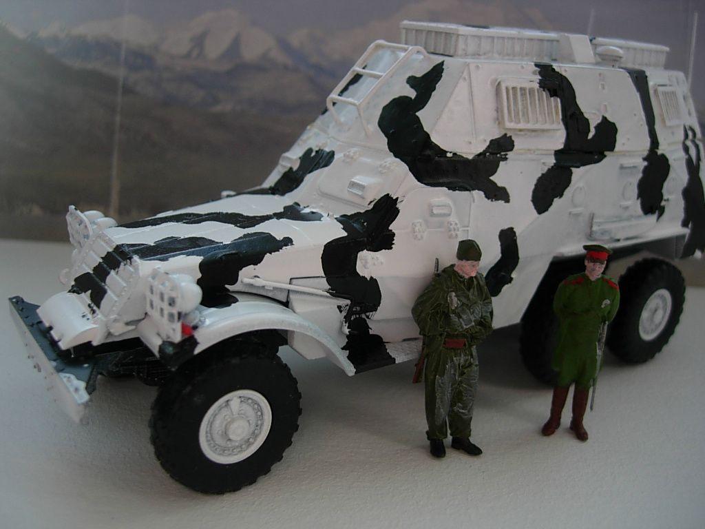 BTR 152 au 1/43 (par Bob)