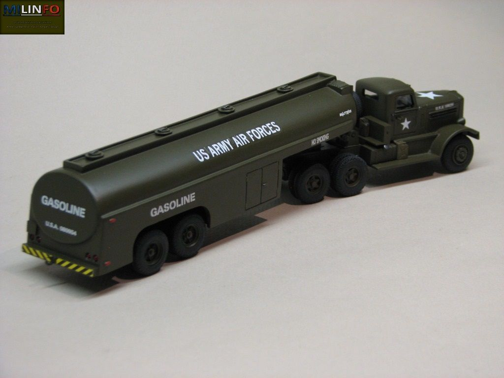 Trcateur Federal 604 semi-remorque citerne au 1/50 (Minitrucks)