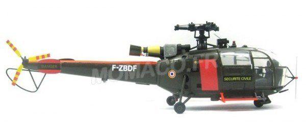 Alouette III Gendarmerie, BSPP, Pompiers et Armée de terre... au 1:43 (Perfex/Alerte)