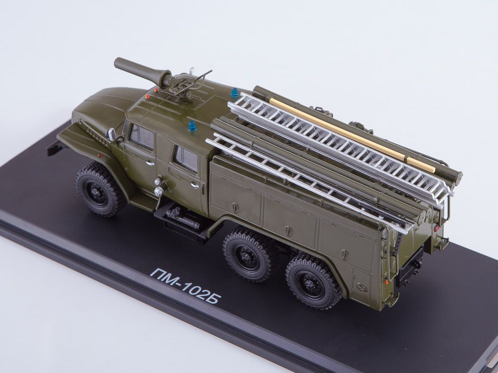 URAL-43202 AC 40 au 1/43 (Start Scale Models - SSM)