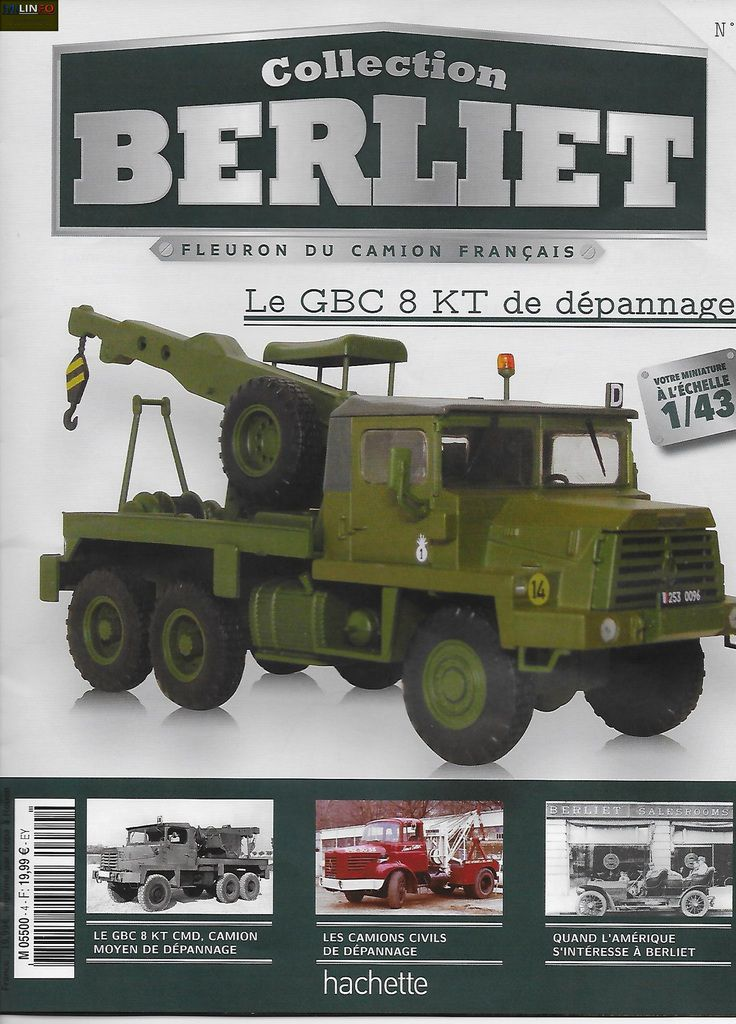 Berliet Tbc 8 Kt Cmd Au 1 43 Et Collection Berliet