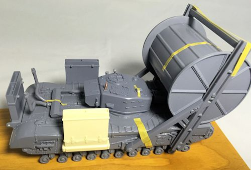 MF48606 : Churchill Mk.IV AVRE Carpet D-Day 1/48