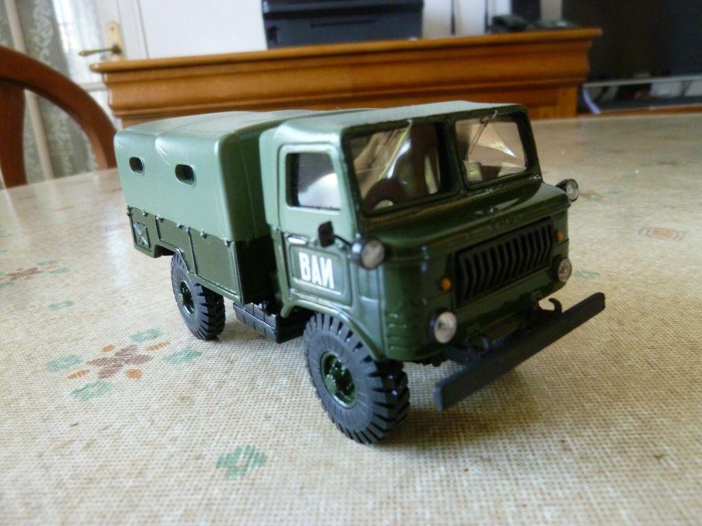 GAZ 62 de la police militaire au 1/43 (ALF)